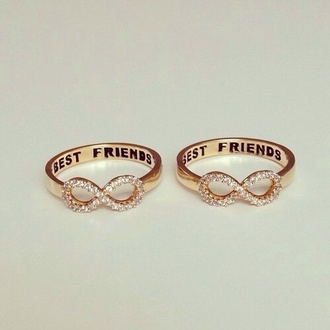 jewels best friends infinity ring infinite ring shoes nike roshe run black and pink