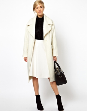 Asos vintage style cocoon coat at asos