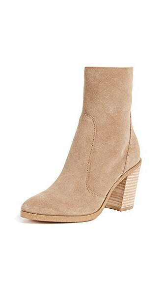 booties light taupe shoes