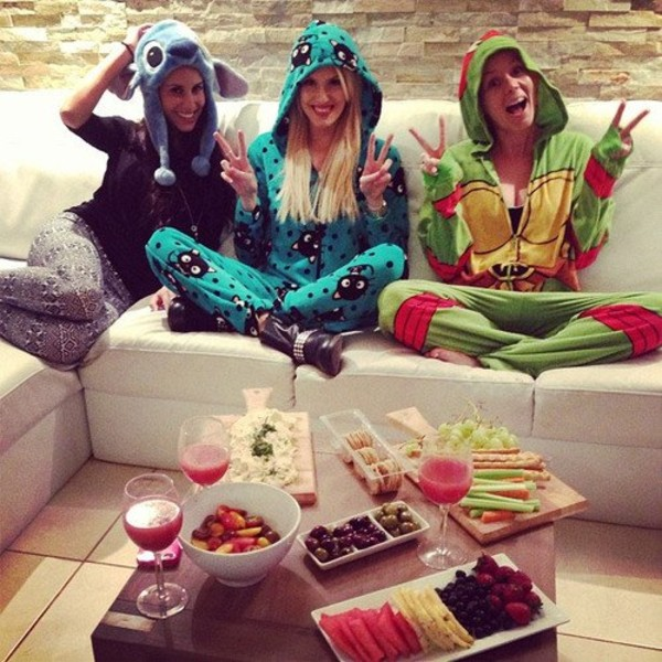 pants cats pajamas cute girly onesie peace sign hipster
