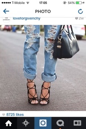 shoes,givenchy celebrity brand fashion heels black high lace