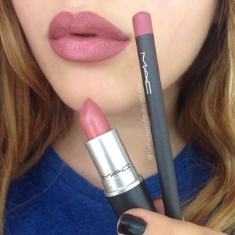 make-up mac kylie jenner lip pencil lipstick