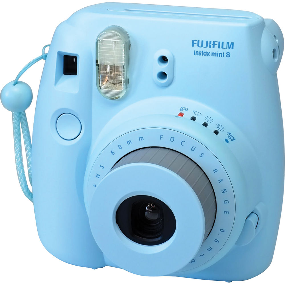 INSTAX Mini 8 Instant Film Camera (Blue) 16273439 B&H