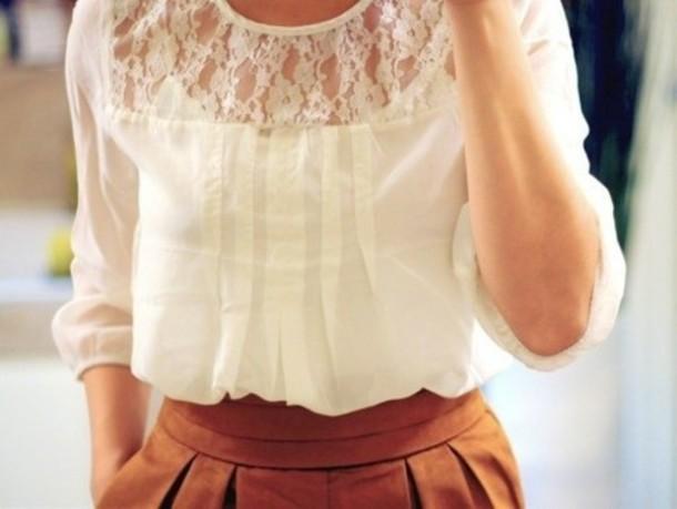 Кружевные блузки Кому подходят и с чем носить кружевные Поэтому блузки из кружева пользуются таким спросом даже