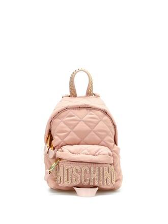 mini quilted backpack mini backpack light pink light pink bag