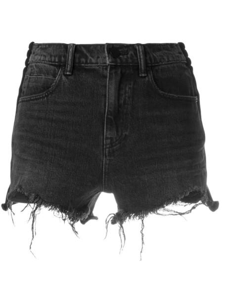 shorts denim shorts distressed denim shorts denim women cotton grey