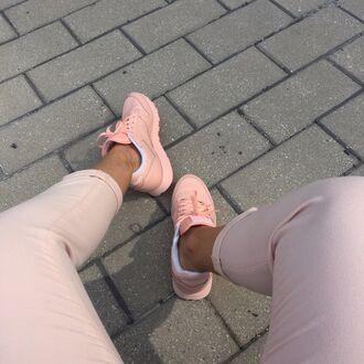 shoes urban pastel pink urban pastel pink reebok sneakers pink shoes