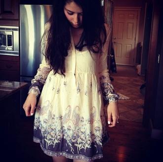 dress boho indie indie boho indie outfit indie clothes vintage casual cute outfit