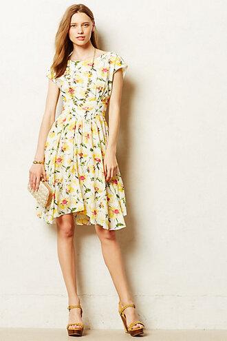 pleated matilija dress dress