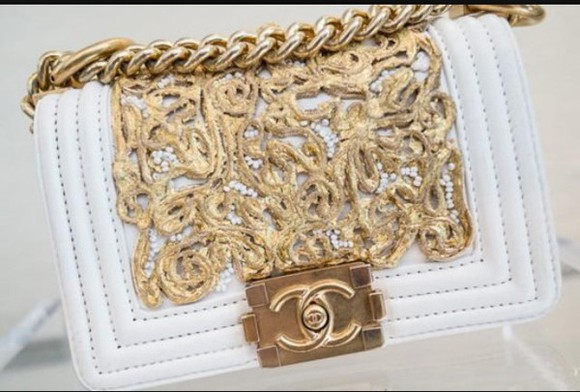 handbag bag chanel chanel handbag