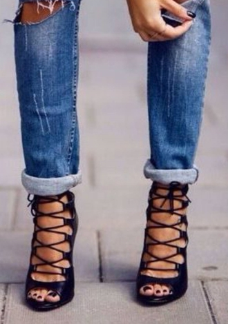 shoes lace up black gladiator heels black heels lace up high heels lace up heels
