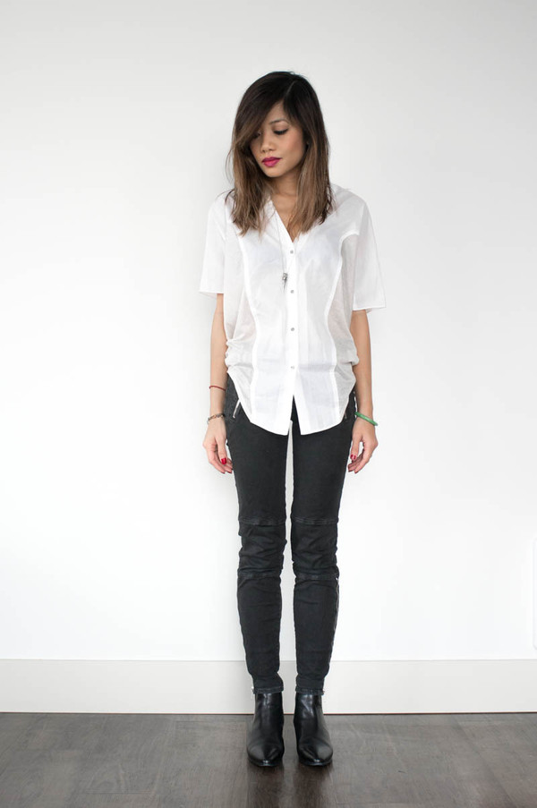 phi style shirt jeans shoes jewels