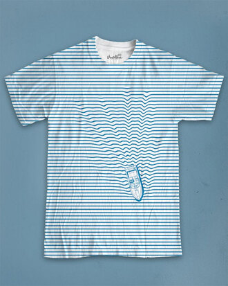 blue t-shirt t-shirt printed