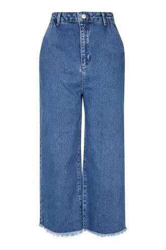 jeans denim clothes topshop wide-leg pants
