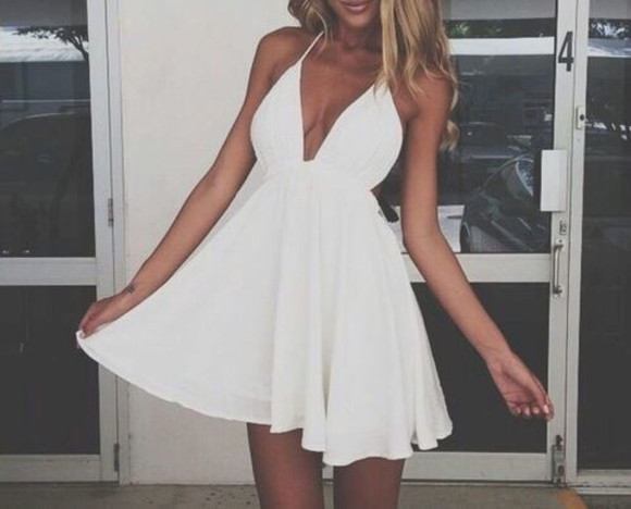 dress summer dress white dress summer outfits sexy dress