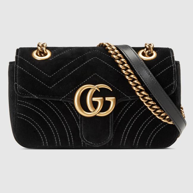 327188dd9dd5 Gucci GG Marmont velvet mini bag