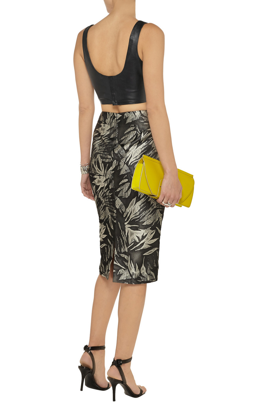 Jason Wu Jacquard-knit pencil skirt – 54% at THE OUTNET.COM