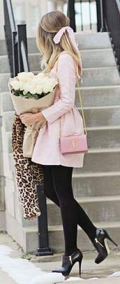 dress,classy,baby pink,romantic,jacket,soft,long coat,coat,girly,pink coat,fashion,style,feminine,bubblegum pink,pink,bell shape coat,winter coat,pastel pink