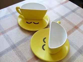 home accessory jaune smiley