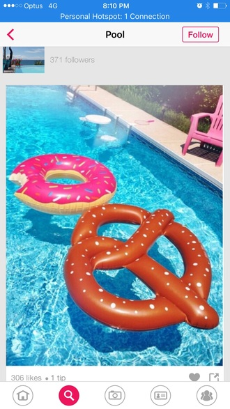 home accessory swimming floaty