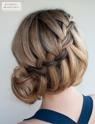 hair braid messy messy bun bun hair bun braided braided bun prom beauty