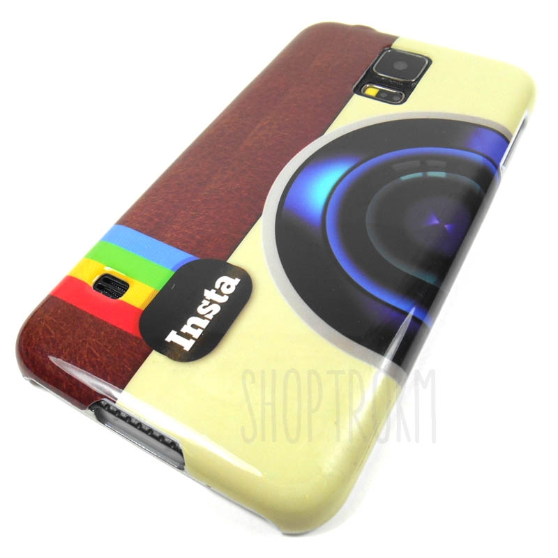 Samsung Galaxy S5 Instant Attraction Hard Cover Back Case With Really Cool Graphic Design