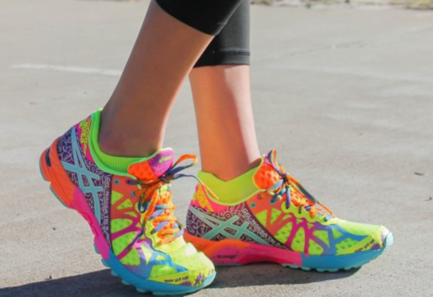 asics colorful sneakers