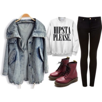 jacket swag jeans boots sweater scarf shoes cardigan