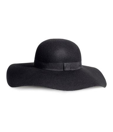 H&m floppy hat in wool £14.99