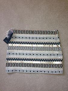 Zara Aztec Skirt Ebay 99