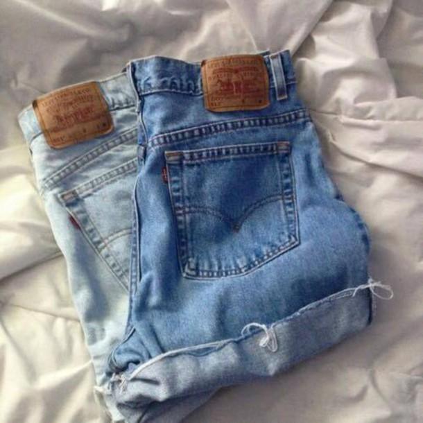 shorts denim shorts blue shorts jeans High waisted shorts High waisted shorts high waisted jeans