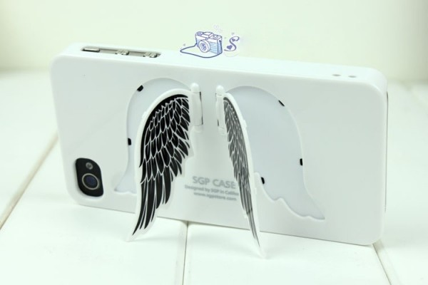 Angel Wings Plastic Skin Case for iPhone 4 4S