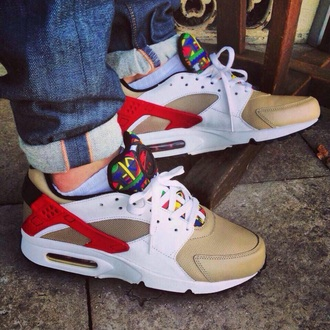 shoes nike style huarache multicolor sneakers urban outfitters fashion nike air nike running shoes nike shoes