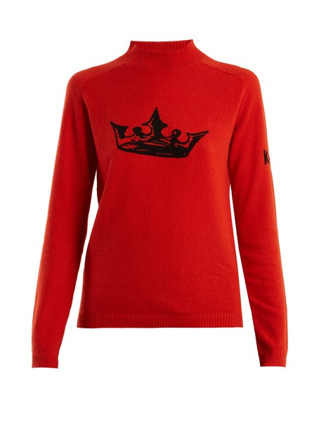 Bella Freud sweater red