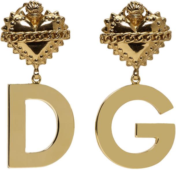 heart earrings gold jewels