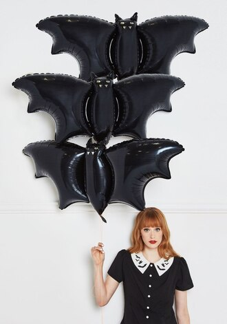 home accessory halloween cute bat animal black balloons party home decor halloween decor halloween party witch