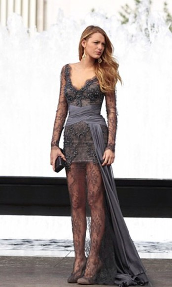 serena van der woodsen dress gossip girl