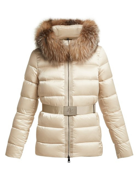 Moncler - Tatie Down Filled Nylon Jacket - Womens - Beige
