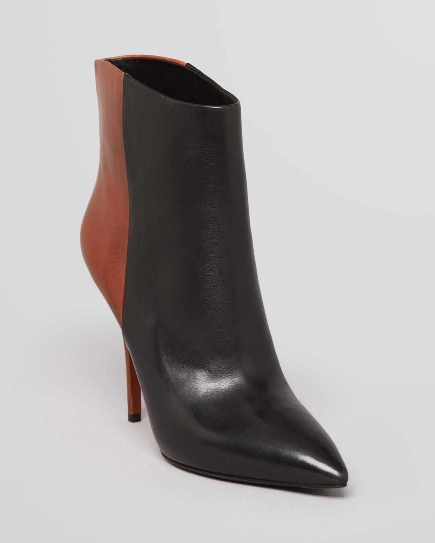 B Brian Atwood Pointed Toe Booties - Djuna High Heel | Bloomingdale's