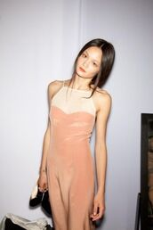 dress,apricot,prom dress,long dress,apricot dress,white dress,white,party dress,maxi dress,peach dress