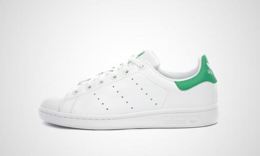 Adidas stan smith junior (weiß / grün)