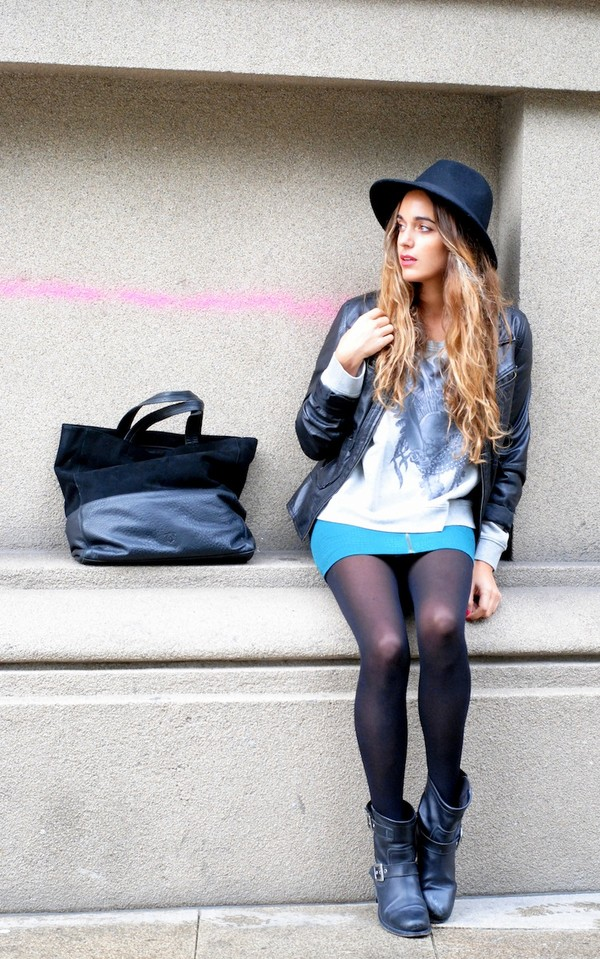 stella wants to die skirt sweater shoes bag hat