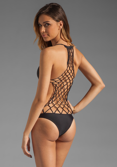 Mikoh swimwear xavier one piece in night