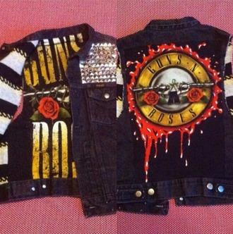jacket guns and roses