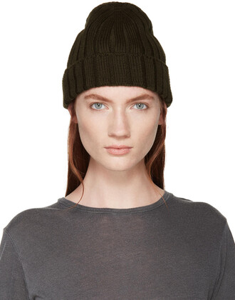 beanie green hat
