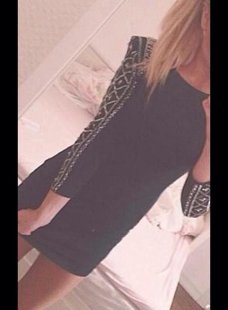 dress black dress style