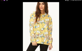 top simpson's jumper i am in love