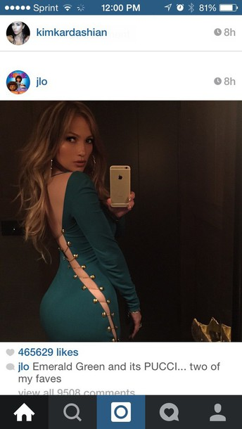 dress emerald green dress jennifer lopez