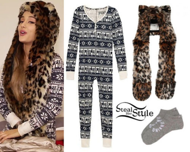 e619ee99aa pajamas socks ariana grande victoria s secret christmas comfy pink by  victorias secret jumpsuit