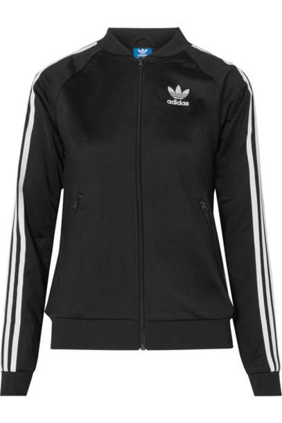 Adidas Originals jacket black satin